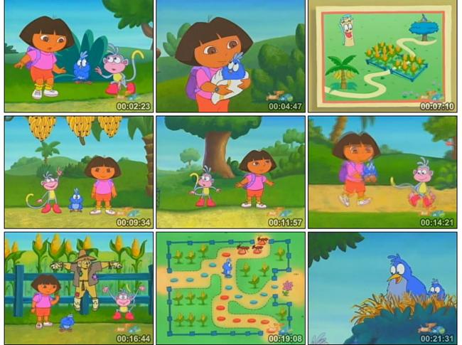 爱探险的朵拉第一季(全英文版) Dora The Explorer Season 1 全26集