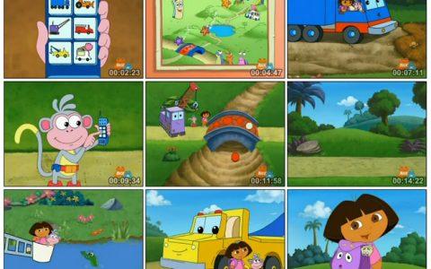 爱探险的朵拉第三季(英文版)Dora The Explorer Season 3 全25集