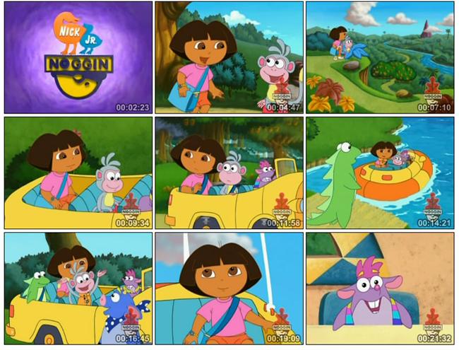 爱探险的朵拉第四季(英文版)Dora The Explorer Season 4 全24集