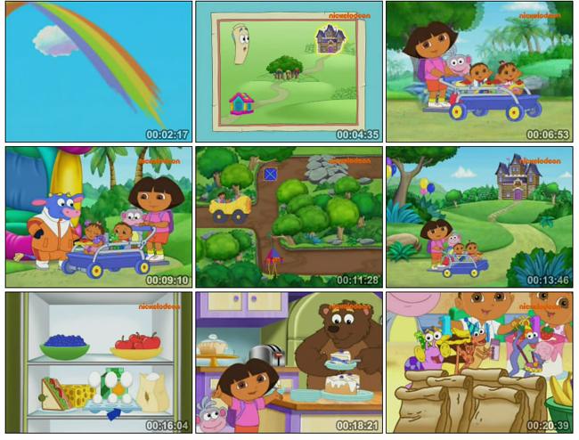 爱探险的朵拉第六季 Dora The Explorer Season 6 全18集
