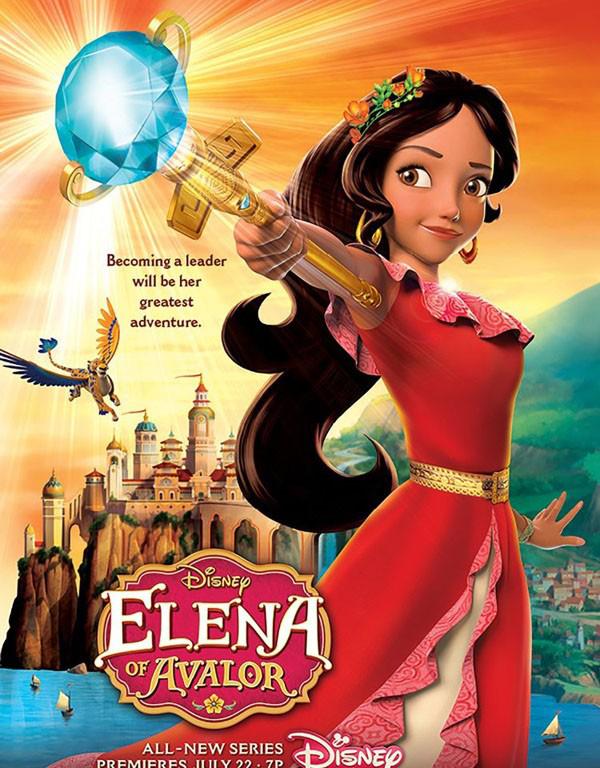 艾莲娜公主 Elena of Avalor 高清第一季1080P汉语版+英文版 / 百度网盘