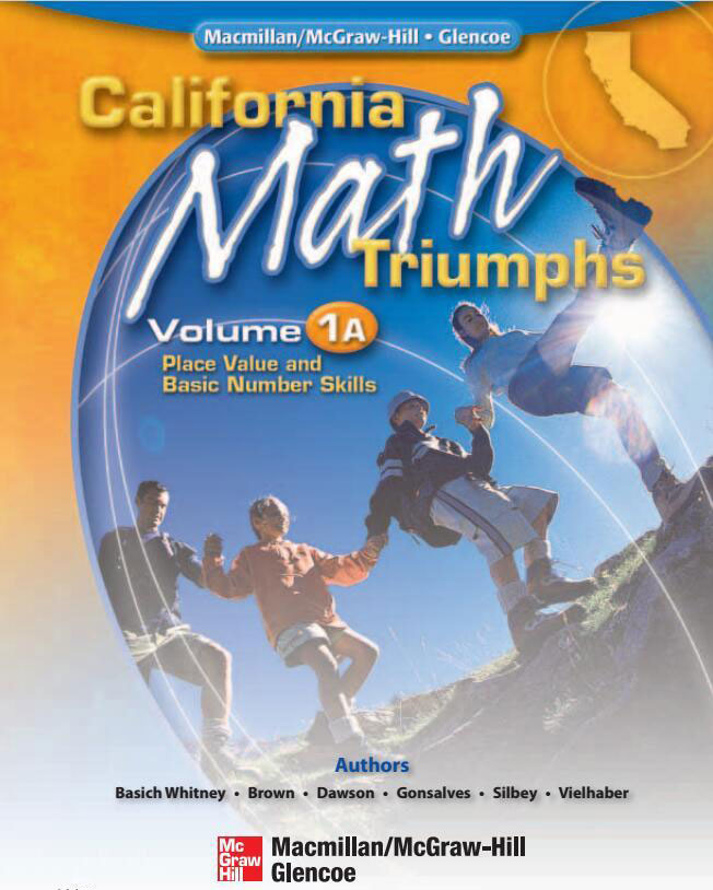 California Math Triumphs 美国加州小学数学教材G1-G6共12册PDF下载 高清彩页百度网盘