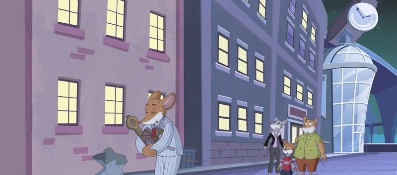 英文动画片《老鼠记者 Geronimo Stilton》第一季全26集 英语英字 1080P/MKV/12.9G 动画片老鼠记者全集下载