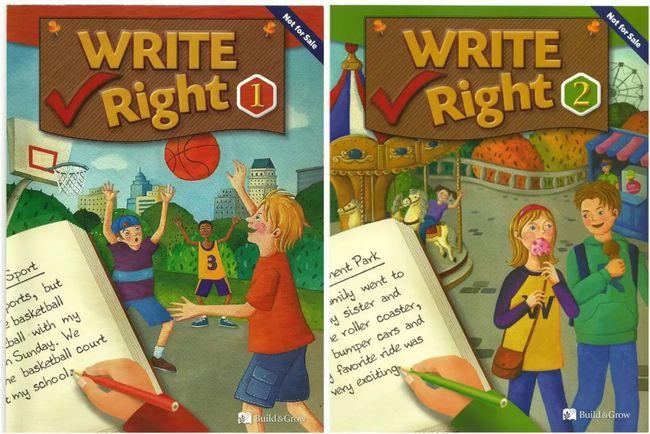 Write Right 美国中小学写作教材1-3级共3册PDF下载 高清彩页 适合12-15岁 百度云网盘