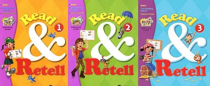 Read and retell 美国小学阅读教材1-3级下载 学生书+教师书+练习册+闪卡+音频+答案