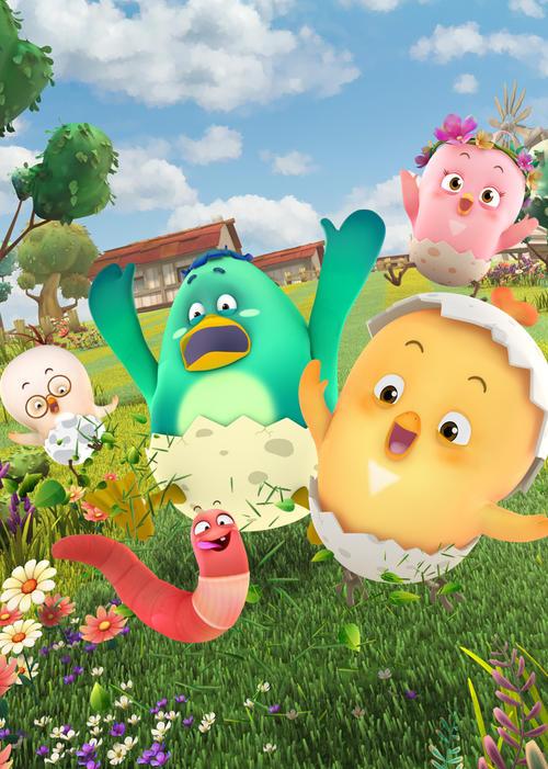 儿歌动画《神奇鸡仔儿歌》全70集下载 mp4/720p/国语中字 百度云网盘