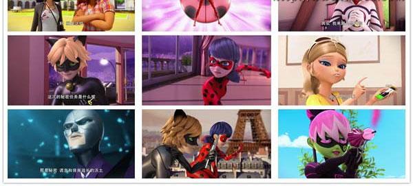 《Miraculous Ladybug》瓢虫少女瓢虫雷迪 中文版第一季全26集下载 mp4高清720p 百度云网盘