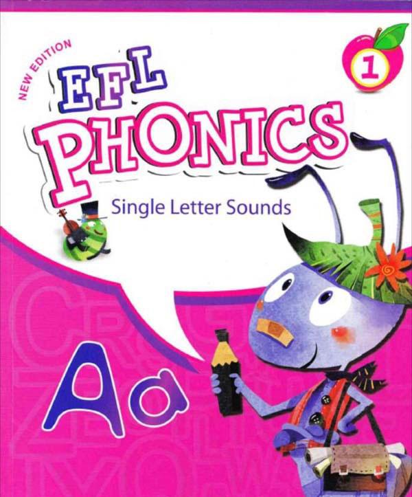 自然拼音教材《EFL PHONICS》1-5级下载 学生书+练习册+老师书+音频+教学动画 百度网盘