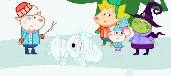 情商教育早教动画片《小羊多莉》全52集下载 mp4高清720p 无对白 适合2-4岁 百度云网盘