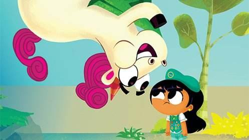 迪斯尼搞笑冒险动画片《走开 独角兽 Go Away, Unicorn!》第一季国语全52集下载 百度云