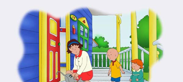 PBS美音早教启蒙动画片《卡由 Caillou》下载 1-5季全340集+新版56集 无字幕 百度网盘