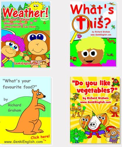 GenkiEnglish 元气英语图片卡共46册下载 PDF格式 高清可打印 百度云网盘