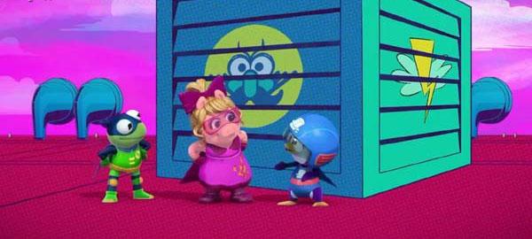 【英语无字幕】迪士尼布偶动画片《布偶娃娃 Muppet Babies》第一二季40集下载 百度云