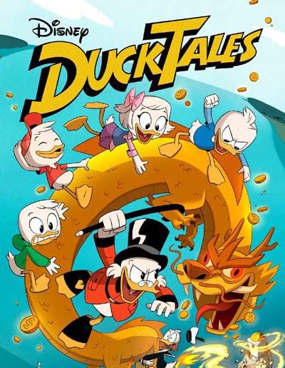 2017迪士尼英语动画片《新唐老鸭俱乐部 DuckTales》第一二季全48集下载 百度云网盘