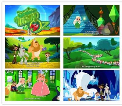 绿野仙踪重拍版《Dorothy and the Wizard of Oz》1-3季共78集下载 英语1080p 百度网盘
