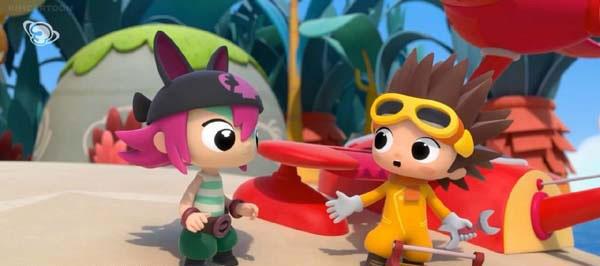 《安妮海盗和阿诺机长 Pirata & Captiano》第一季32集下载 mp4英语无字幕 百度云