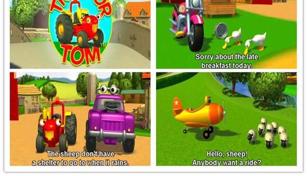加拿大益智动画片《工程车汤姆 Tractor Tom》第一二季全52集下载 英语英字 百度云网盘