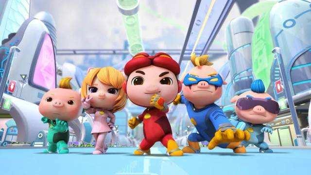 儿童奇幻冒险搞笑动画片《猪猪侠之深海小英雄》第一季全26集下载 mp4/720p 百度云网盘