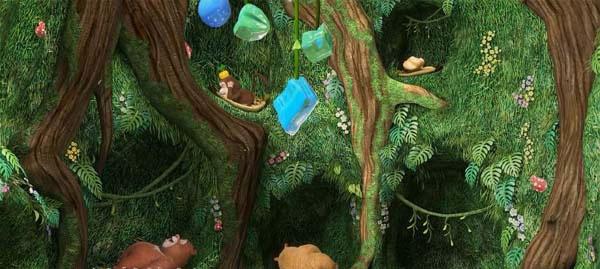 儿童搞笑冒险动画片《熊出没之熊熊乐园》第二季全52集下载 mp4国语720p 百度云网盘