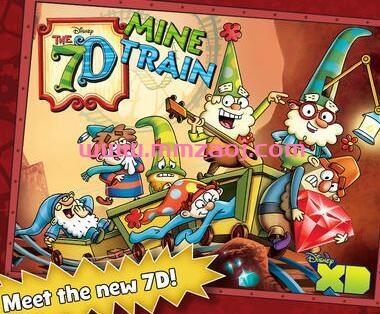 迪士尼魔幻冒险动画片《七个小矮人 The 7D》第二季全20集下载 mp4/中英双字 百度网盘