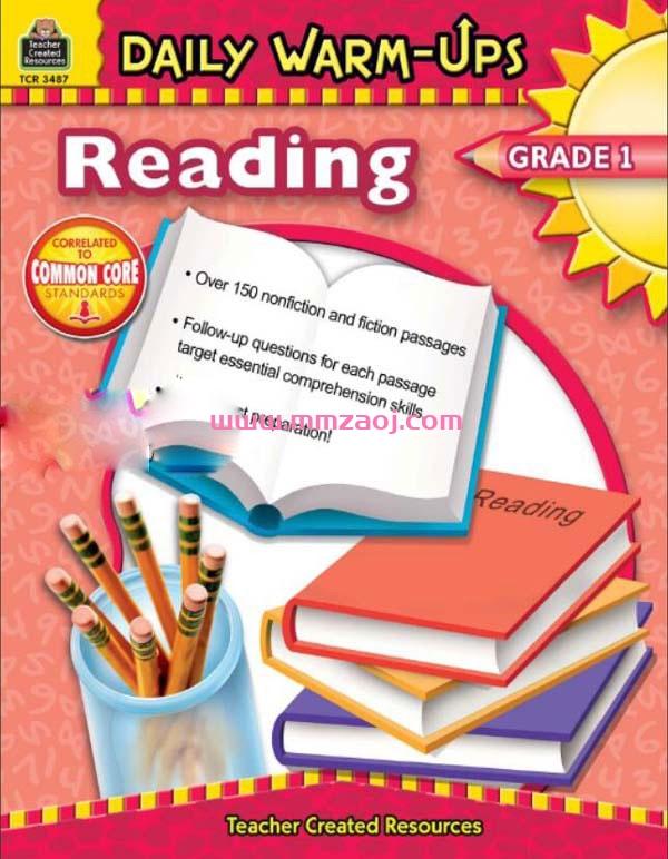 英文原版阅读理解分级练习册 Daily warm-ups Reading G1-G8共8册PDF下载 百度云网盘