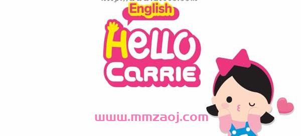 儿童自然拼读动画视频《Hello Carrie》下载 Alphabet A-Z Song+组合音节 百度网盘
