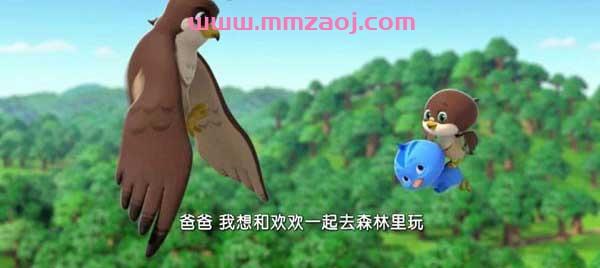 萌鸡小队第二季国语全52集下载 mp4高清1080p|720p 国产早教益智热播动画片 百度云网盘