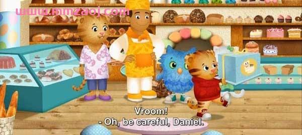 美国PBS学龄前动画片《小老虎丹尼尔》1-4季全101集下载 mkv/1080p/英语英字 百度网盘