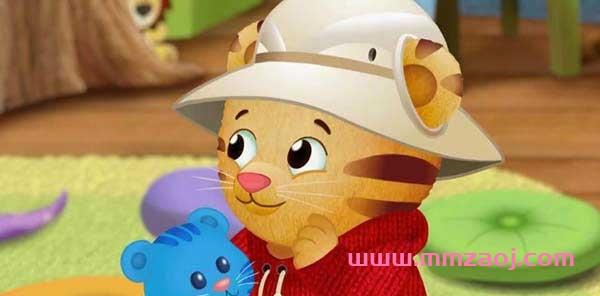 《小老虎丹尼尔》又名老虎丹尼尔的邻居们中文版动画全130集 mp4高清540p 百度网盘下载