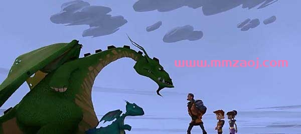 法国奇幻冒险动画片《小骑士大冒险 My Knight and Me》下载 英语52集+国语52集 百度云