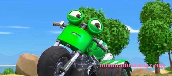 儿童励志冒险动画片《瑞奇冲冲冲 Ricky Zoom》全52集下载 mp4/1080p/国语 百度云网盘