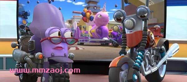 儿童冒险益智动画片《瑞奇冲冲冲 Ricky Zoom》英文版共26集下载 mp4英语英字 百度网盘