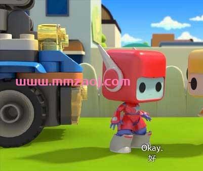 儿童益智冒险动画片《百变布鲁可 Magic Blocks》英文版第一二季全40集下载 百度云网盘
