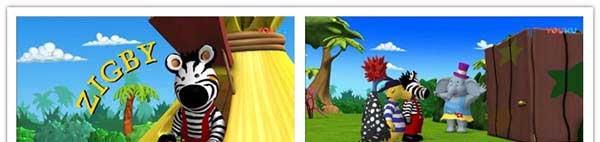 儿童搞笑冒险动画片《斑马兹比 Zigby The Zebra》全52集下载 720p/英语中字 百度网盘