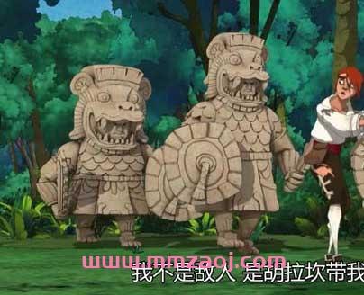 欧美奇幻冒险动画片《宝石岛 Treasure Island》英文版全26集下载 mp4/720p 百度云网盘