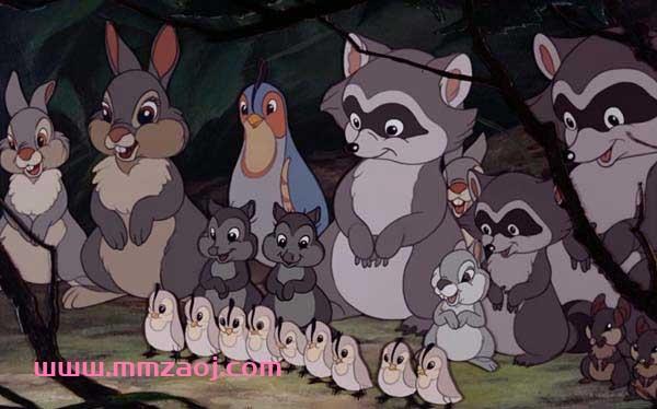 迪士尼经典励志冒险动画电影《小鹿斑比 Bambi》下载 mkv/国英双语/中英字幕 百度网盘