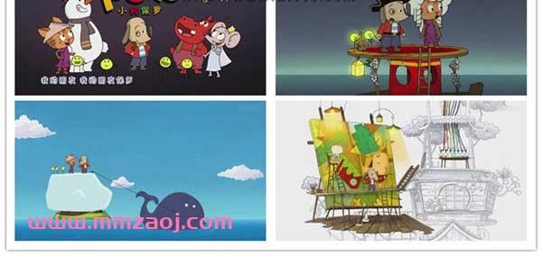 法国亲子益智动画片《小狗保罗 POLO》全52集下载 mp4/540p/无对白 百度云网盘