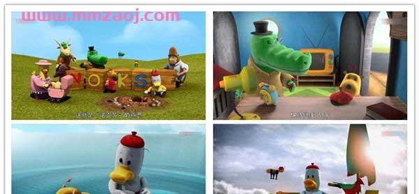 英国冒险益智动画片《诺克苏 Noksu》下载 英语65集+国语65集 mp4/720p 百度云网盘